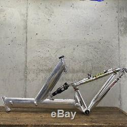Vintage Fisher Frame Joshua 26 MTB 19 Made In USA! Recent Rock Shox Monarch